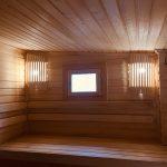 Двухсекционная 4 метровая, освещение, окно